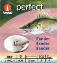 VMC Zander-Haken gebunden